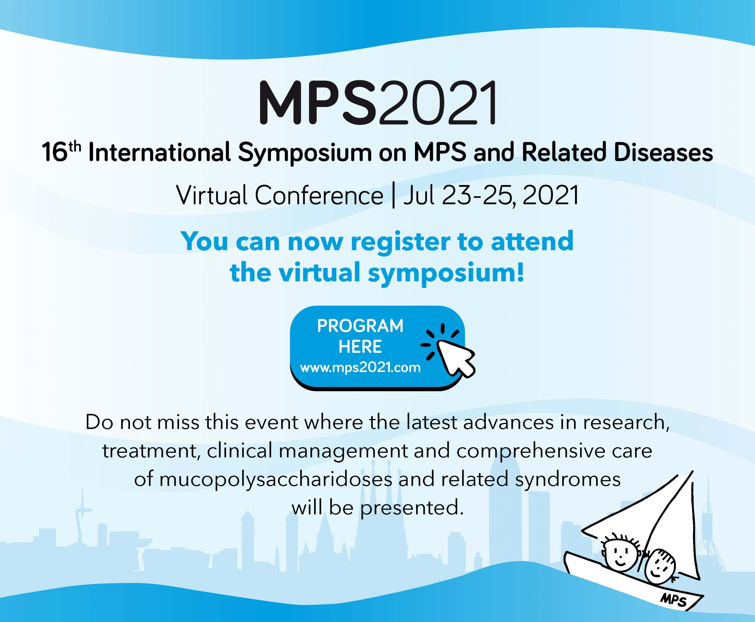 MPS 2021- 16th International Symposium on MPS and Related Diseases @ Virtual